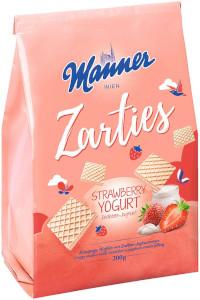 Manner Zarties Strawberry Yoghurt Waffles 200g