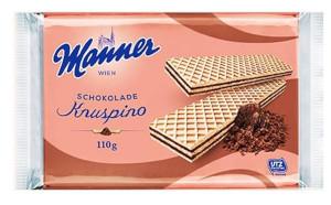 Manner Schokolade Knuspino 110g