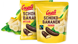 Casali Schoko-Bananen minis Gluten Frei 110g