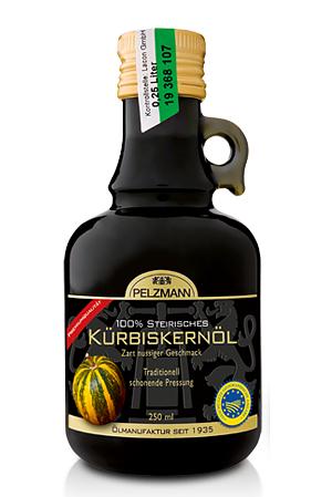 Pelzmann 100% Steirisches Kürbiskernöl 250ml