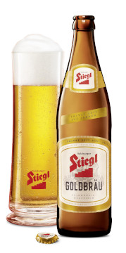 Stiegl Goldbräu Feinwürzig Klassisch Alk. 5,0% vol 50cl