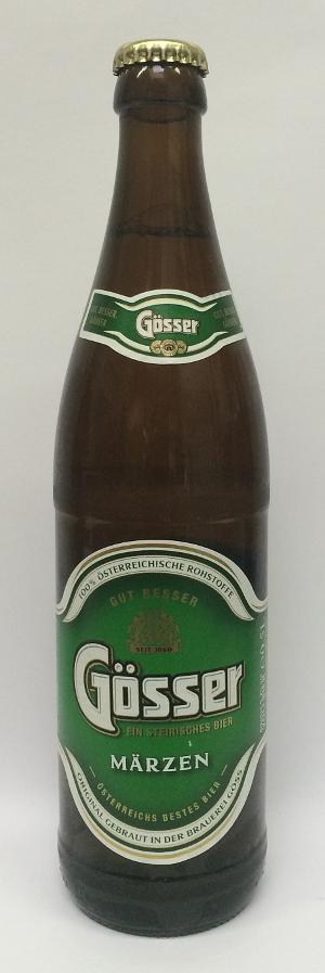 Gösser Märzen Bier 50cl - 5.2%