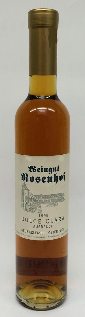 Rosenhof Dolce Clara Ausbruch 1999 Alk. 13,0% Vol 375ml