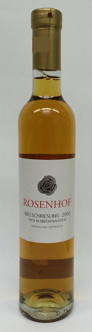 Rosenhof Welschriesling Trockenbeerenauslese 2002 Alk. 13,0% Vol