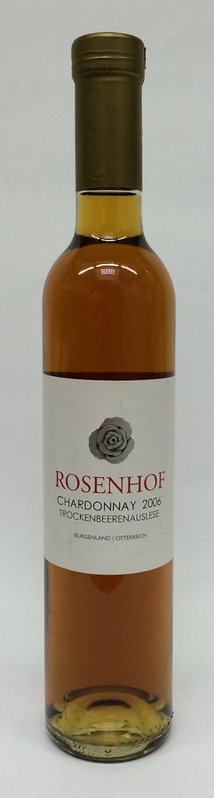 Rosenhof Chardonnay 2006 Trockenbeerenauslese - 37.5cl - 13.5% Alk.