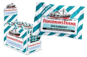 Fisherman's Friend Spearmint Ohne Zucker 25g