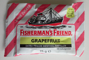 Fisherman's Friend Grapefruit Ohne Zucker 25g