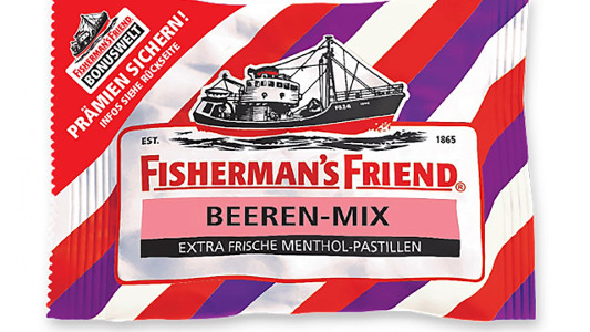 FISHERMANN'S FRIEND BEEREN-MIX 25G