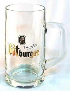 Bitburger bierglass 0,4l