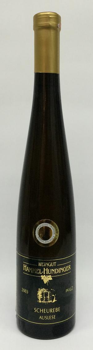 3- Weingut am Kaiserbaum Scheurebe Auslese 2003 Alk. 10,5% Vol 500ml