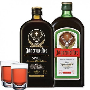 1- Glas Jägermeister 0.20 liter
