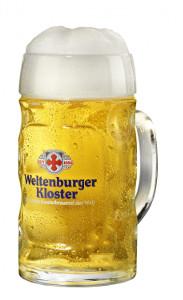 Weltenburger Bierglass 0,5 Liter