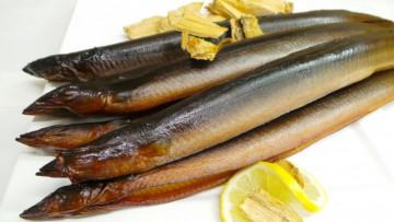 1- Geräucherter Aal ca. 200g