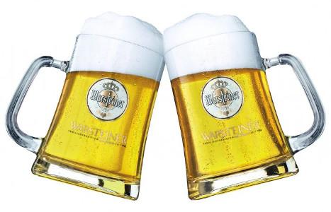 Warsteiner Bier Glas 50cl