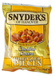 Snyder's of Hanover Pretzel Pieces Cheddar Cheese 125g