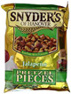 Snyder's of Hanover Pretzel Pieces Jalapeno 125g