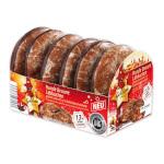 Goldora Runde Braune Lebkuchen glasiert und 13% Zartbitterschokolade