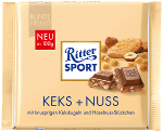Ritter Sport Keks + Nuss 100g