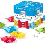 Ritter Sport Schokowürfel Happy Birthday 176g für 22 Stück