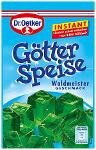 Dr. Oetker Götterspeise Waldmeister Instant 100g
