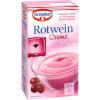 Dr Oetker  Rotwein Creme