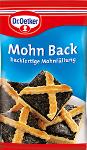 Dr Oetker Mohn Back 250g