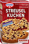 Dr Oetker Backmischung Streusel Kuchen m Puddingcreme 485g
