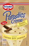 Dr Oetker Paradies Creme Bananen Geschmack mit Schokosplits (70g)