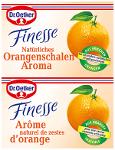 Dr.Oetker Finesse Orangenschalen Aroma 2 x 6g