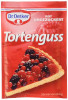 Dr.Oetker Tortenguss Rot ungezuckert 3er x 12g