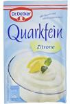 Dr.Oetker Quarkfein Zitrone Geschmack 57g für 4 Portionen