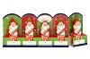 Lindt Frohes Fest Weihnachtsmänner Vollmilch-Chocolade 50g für 5e