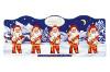 Lindt Frohes Fest Weihnachtsmann 50g für 5er