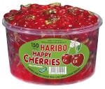 Haribo Happy Cherries 1200g für 150 Stück