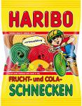 Haribo Frucht- und Cola-Schnecken (175g)