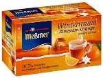 Messmer Wintertraum Zimtstern-Orange 20er