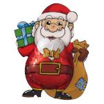 Storz Weihnachtsmann Klausi, Schokolade 62,50g für 5er x 12,5g