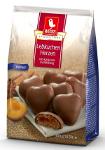 Weiss Lebkuchen Herzen Vollmilch mit Aprikosenfüllung 300g
