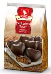 Weiss Lebkuchen Herzen Zartbitter-Schokolade 300g