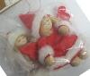 Geroma 2 Engel Filz Rot-Weiss