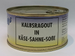 Schäfer's Hochgenuss Kalbsragoutb in Käse-Sahne-Sosse (300g/155g)
