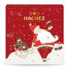 Hachez Adventskalender Weihnachtsmann 135g