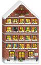 Hachez Adventskalender Haus 250g