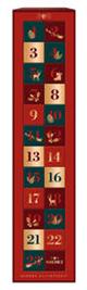Hachez Adventskalender Pralinenwürfel 250g