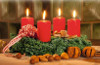 Gala Kerzen Stumpen 5 x 10cm Rot 2-er