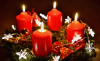 Gala Kerzen Stumpen 6 x 11.5cm Rot 2er
