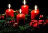 Gala Kerzen Stumpen 5 x 10cm  Kirsche, 2-er