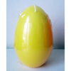 Eierkerze gelb