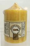 Stumpenkerze 100% Bienenwachs 90x55mm