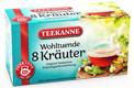 Teekanne 8 Kräuter Wohltuend & Harmonisch 20er x 2g